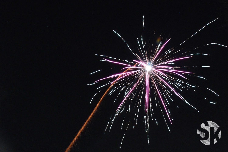 Feuerwerk | Silvester | 2017